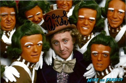 Gene Wilder signed autograph willy wonka promo photo graph stir crazy
