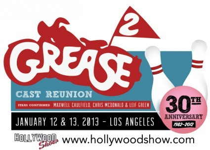 Grease2_Reunion at the hollywood collector's show in los angeles maxwell caulfield rare promo