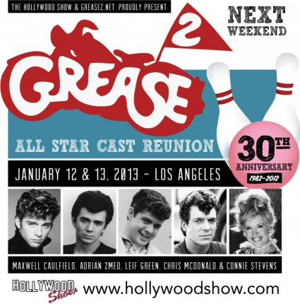 Grease2_Reunion rare promo adrian zmed maxwell caulfield connie stevens rare promo