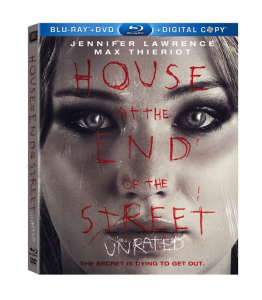 The house at the end of the street blu ray cover art poster movie poster rare promo jennifer lawrence rare