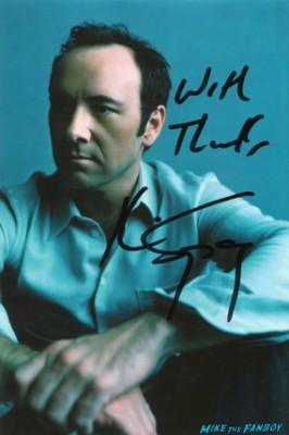 Kevin Spacey signed autograph promo photo the usual suspects the ref rare promo