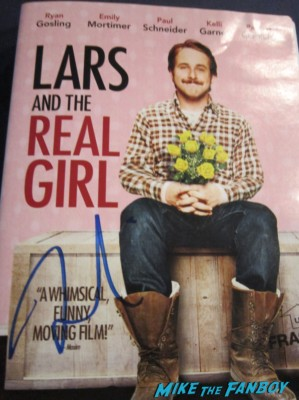 Ryan Gosling signed autograph lars and the real girl dvd cover rare hot sexy promo photo shoot gangster squad promo