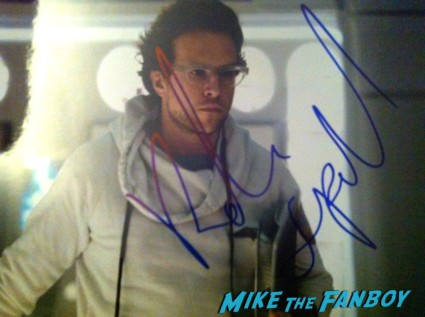 Rafe Spall signed autograph prometheus promo photo photograph signature rare hot sexy sci fi star