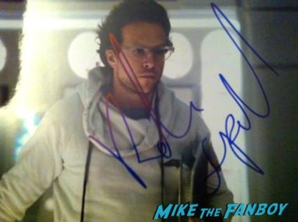 Rafe Spall signed autograph prometheus promo photo photograph signature rare hot sexy sci fi star