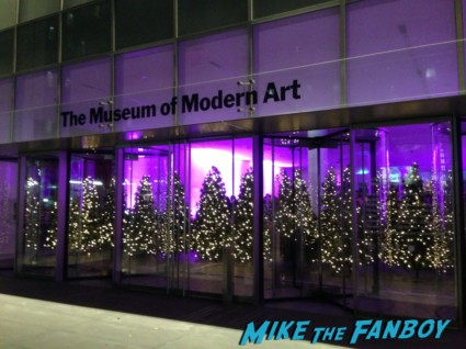 new york museum of modern art in new york city les miserables movie premiere after party rare promo