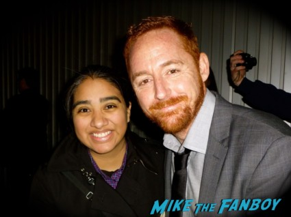scott grimes fan photo rare promo signing autographs for fans elisa in the big apple mike the fanboy