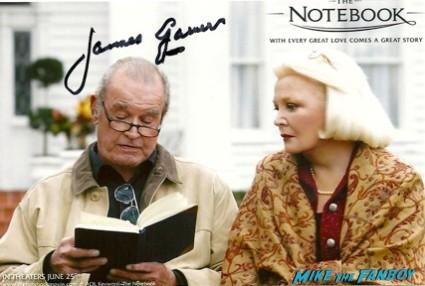 James Garner signed autograph promo photo graph hot maverick the notebook star