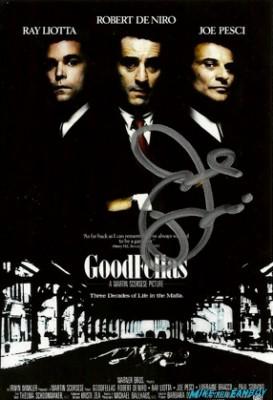 Joe Pesci signed autograph goodfellas photograph photo hot rare mob movie