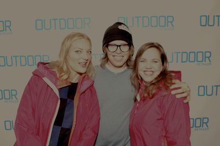 Kevin Pearce and Lucy Walker Crash Reel Bill Pullman  Outdoor Retailer Innovation party sundance film festival 2013 rare hot snow