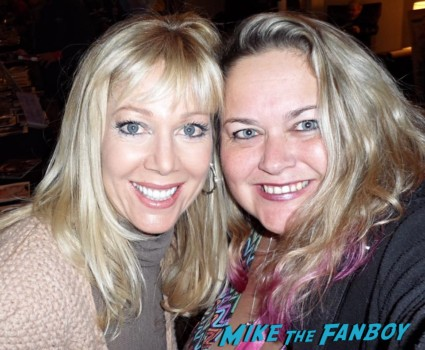 Lynn Holly Johnson fan photo rare promo 2013 now ice castles star pinky lovejoy mike the fanboy rare promo signing autographs hottie