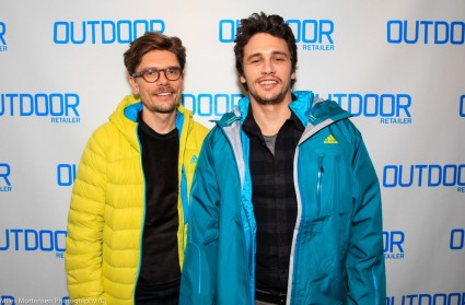James Franco at the Sundance film festival 2013 hot sexy star DAY 2 AT OUTDOOR RETAILER INNOVATION GALLERY
