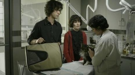 Miranda July The Future press promo still hot rare disabled cat indie film promo photograph