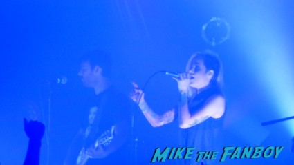 Shiny Toy Guns – The Echoplex – 10/23/12 live in concert photo rare promo Carah Faye Charnow