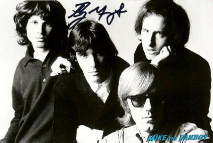 Ray Manzarek signed autograph promo photograph hot the doors guitarist signature