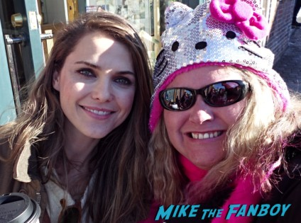 keri russell fan photo felicity waitress star pinky from mike the fanboy rare promo hot sexy photo fan photo star