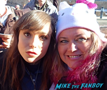ellen page fan photo juno whip it star pinky from mike the fanboy rare promo hot sexy photo fan photo star
