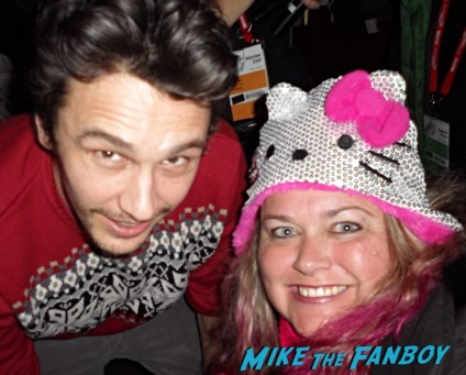 james franco fan photo sexy star pinky from mike the fanboy rare promo hot sexy photo fan photo star