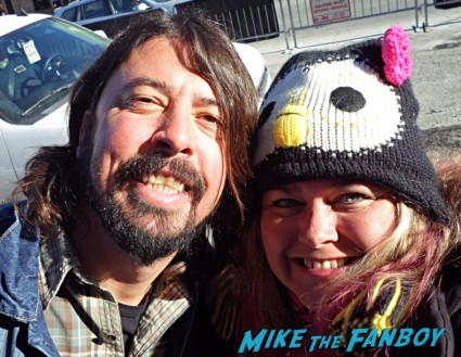 Dave Grohl hot sexy fan photo rare signing autographs for fans rare united States of Tara gangster squad rare promo