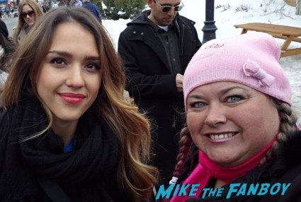Jessica Alba Fan photo signing autographs for fans rare promo signed autograph rare promo hot