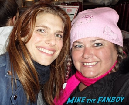 lake bell photo signing autographs for fans rare promo signed autograph rare promo hot