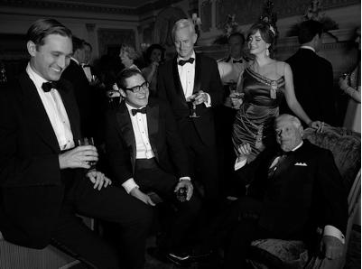 Mad Men season 6 promo photo shoot jon hamm january jones rare jessica pare cast photo hot sexy rare AMC