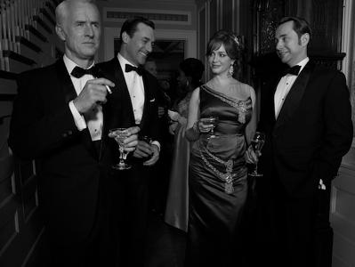 Mad Men season 6 promo photo shoot jon hamm january jones rare jessica pare cast photo hot sexy rare AMC christina hendricks