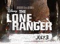 the lone ranger promo movie poster johnny depp armie hammer teaser one sheet poster walt disney rare