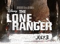 the lone ranger promo movie poster johnny depp armie hammer teaser one sheet poster walt disney rare