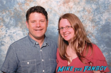 Sean Astin fan photo rare lord of the rings star the goonies promo photo shoot collectormania rare