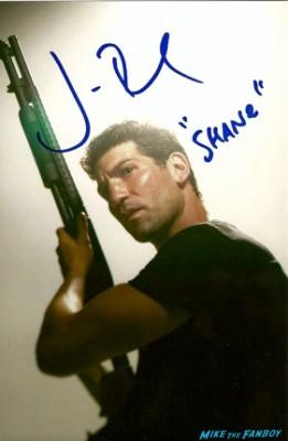 Jon Bernthal signed autograph shane the walking dead promo photograph signature hot rare
