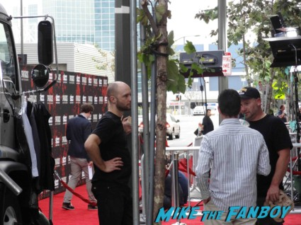 Spartacus: War of the Damned television premiere starz cast rare red carpet liam mcintyre lucy lawless