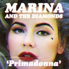 "Marina and the Diamonds ""Primadonna"" cd single promo artwork cover art promo hot sexy marina hot"