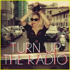 "Madonna – ""Turn Up The Radio"" cd single promo album artwork hot sexy rare mdna album"