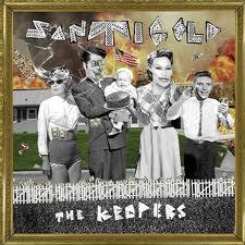 "Santigold - ""The Keepers"" cd single promo artwork cover hot cd single promo artwork cover"