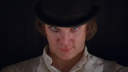 alex from a clockwork orange droogs photo rare malcolm mcdowell rare promo press still hot sexy photo in character rare