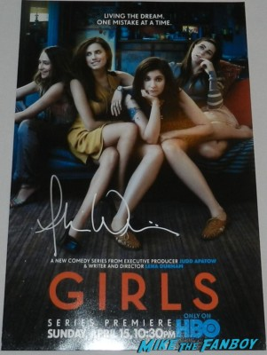 allison williams signed girls blu ray dvd coveallison williams signed girls mini poster movie rare rare signature signed autograph rare sexy allison williams from girls signing autographs for fans hot sexy girls star rare promo girls mini poster promo r rare signature signed autograph rare sexy allison williams from girls signing autographs for fans hot sexy girls star rare promo girls mini poster promo
