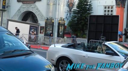 Gangster Squad Movie Premiere red carpet marquee with sean penn ryan gosling emma stone josh brolin