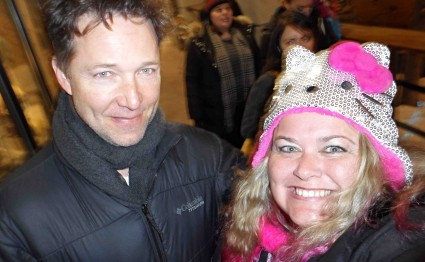 george newbern fan photo rare now 2013 signing autographs for fans rare promo father of the bride star sundance film festival rare
