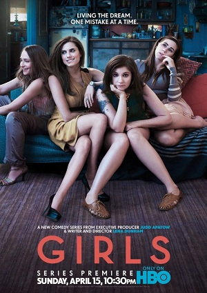 girls season 1 promo poster lena dunham key art promo season 2 poster hbo new series premiere rare