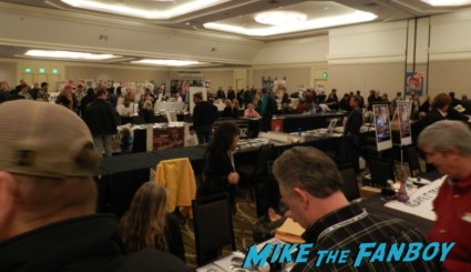 the hollywood show at the westin LAX los angeles ca rare signing autographs for fans rare promo