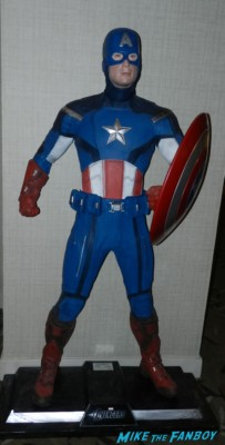 captain america chris evans maquette from the hollywood show at the westin hotel in los angles