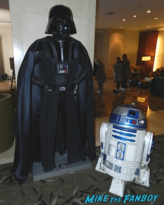 star wars darth vader maquette from the hollywood show at the westin hotel in los angles