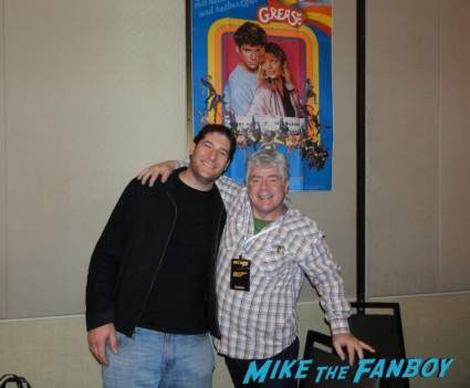 grease 2 star Leif green fan photo signing autographs for fans rare promo now 2013 grease 2 signed movie poster