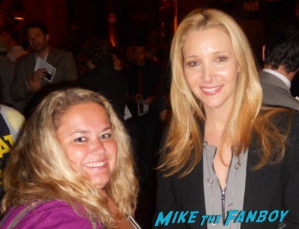 Lisa Kudrow fan photo signing autographs for fans phoebe buffay signed rare easy a the comeback rare