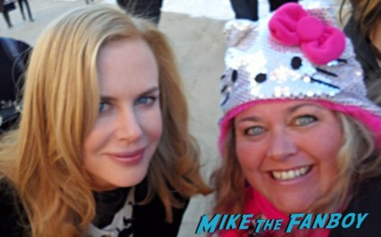 Nicole Kidman Fan Photo Sundance Film Festival signed autograph rare promo hot sexy star