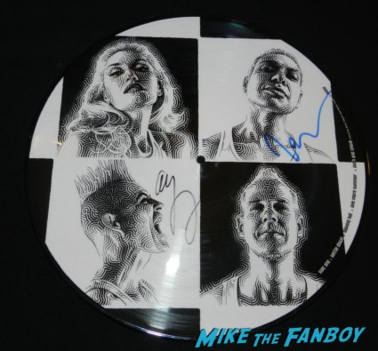 no doubt signed autograph push and shove picture disc tony kanal adrian young rare promo hot no doubt signing autographs at jimmy kimmel live 034