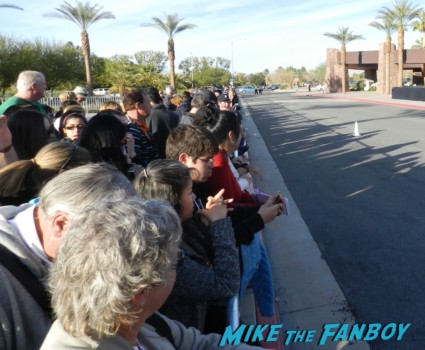 the crowd at the palm springs film festival 2013 signing autographs diane lane 022
