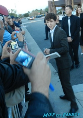 tom holland signing autographs at the palm springs film festival 2013 signing autographs diane lane 031