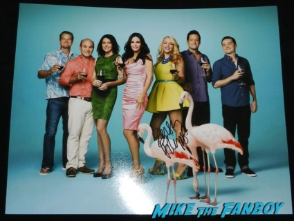 busy phillips signed autograph cougar town cast photo rare 2013 sag awards hot sexy star promo