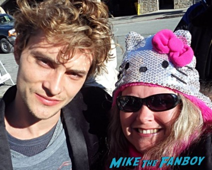 shiloh fernandez Fan Photo Sundance Film Festival signed autograph rare promo hot sexy star